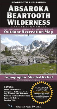 Absaroka Beartooth Wilderness Cover 7th Edition