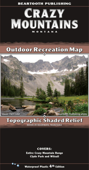 Crazy Mountains Map Cover 4th Edition