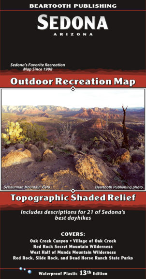Sedona Map Cover 13th Edition