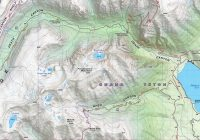 Teton Range Core Trails Detail