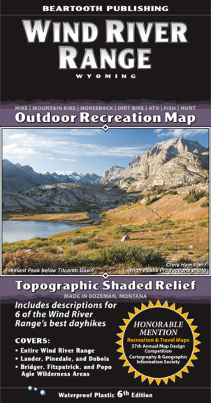 Wind River Range Cover 6th Edition