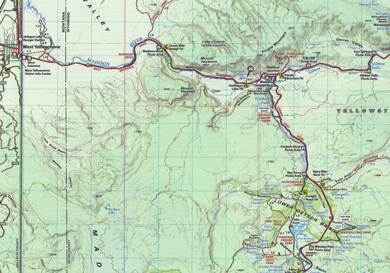 Yellowstone National Park Beartooth Publishing