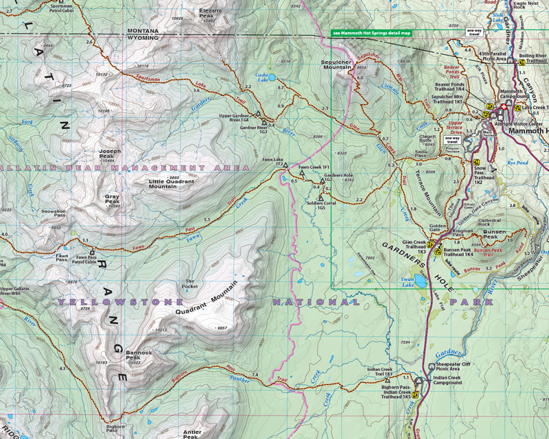 Yellowstone North | Beartooth Publishing on